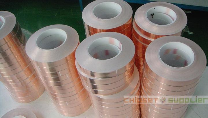 42mm One Side Adhesive Conductive Copper Foil Tape(0.08mm) 30M