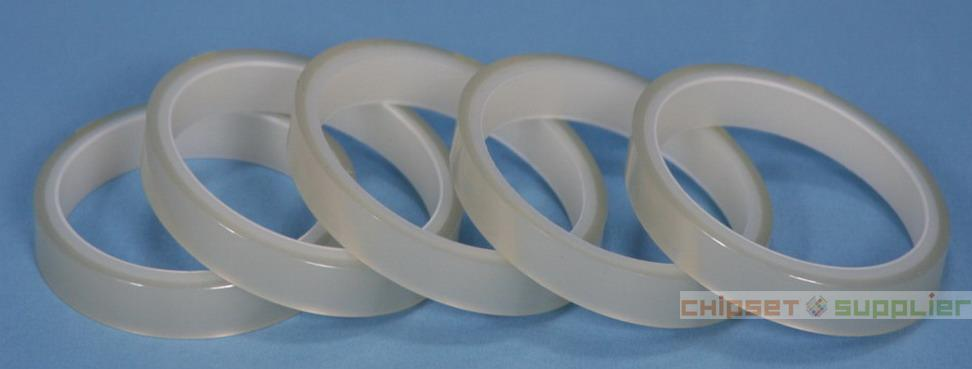 69mmx66Mx0.06mm Transparent PET Insulate Adhesive Mylar Tape