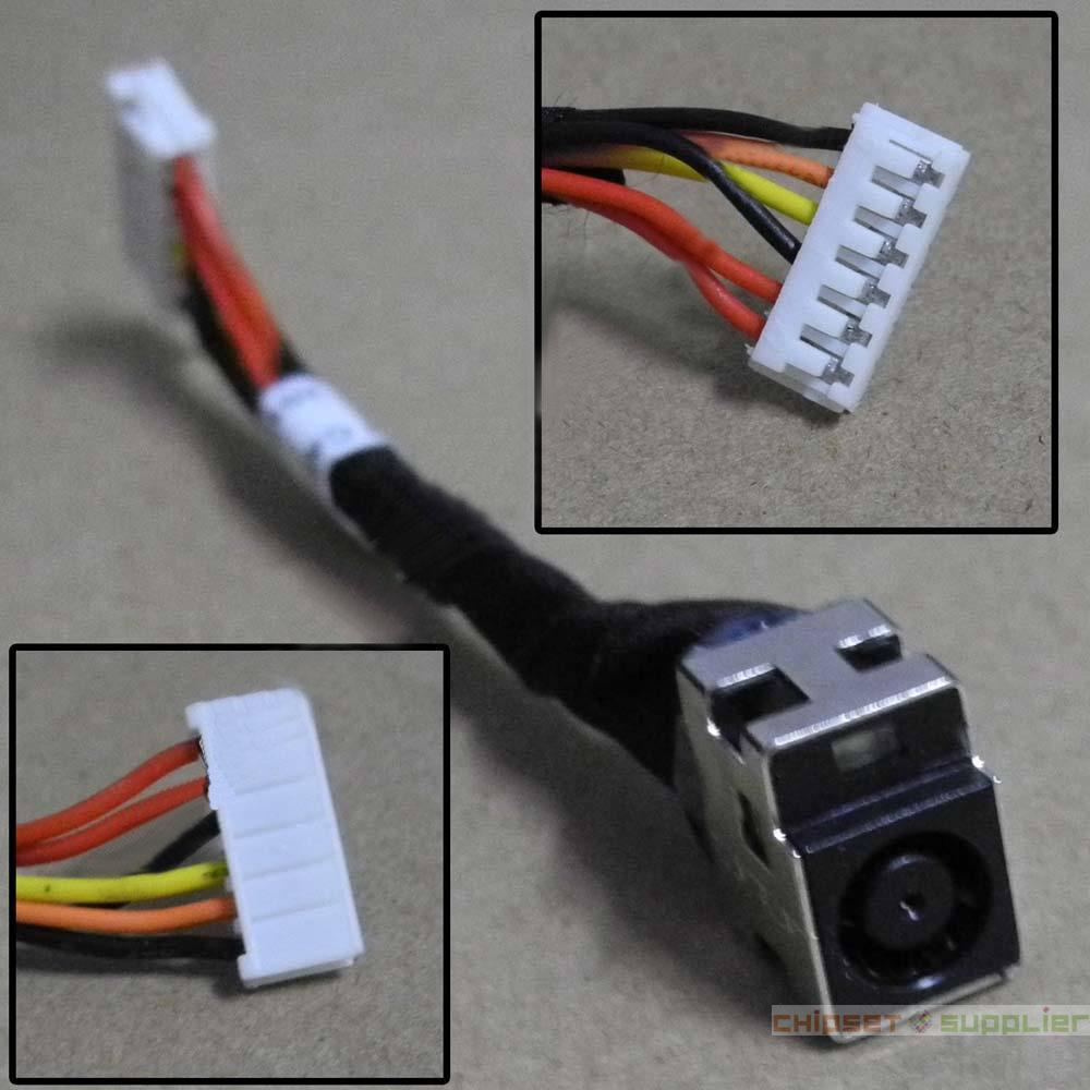 Hp Cq50 Cq60 Cq70 G50 G60 G70 Power Dc Jack With Cable Connector Wiring