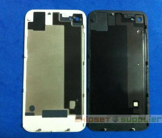 black Iphone 4S Original disassemble back Cover