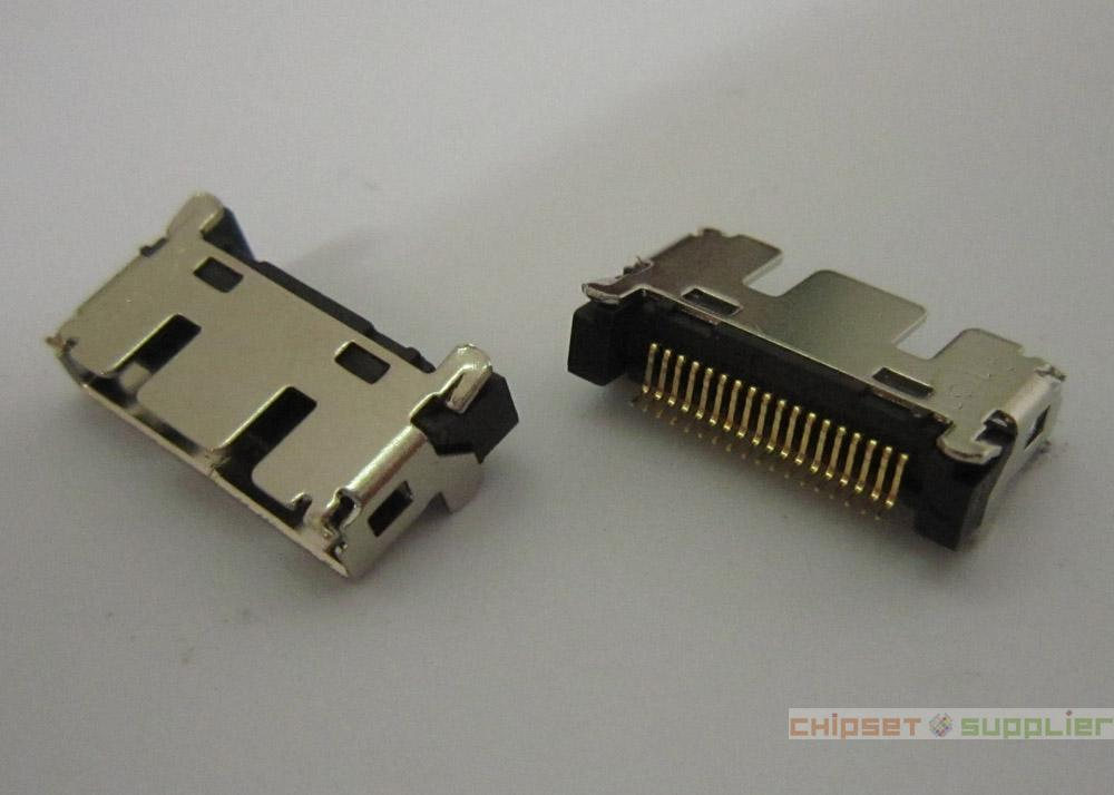 Laptop Tablet MotherBoard Common use 18pin Female Connector Jack, AFON001