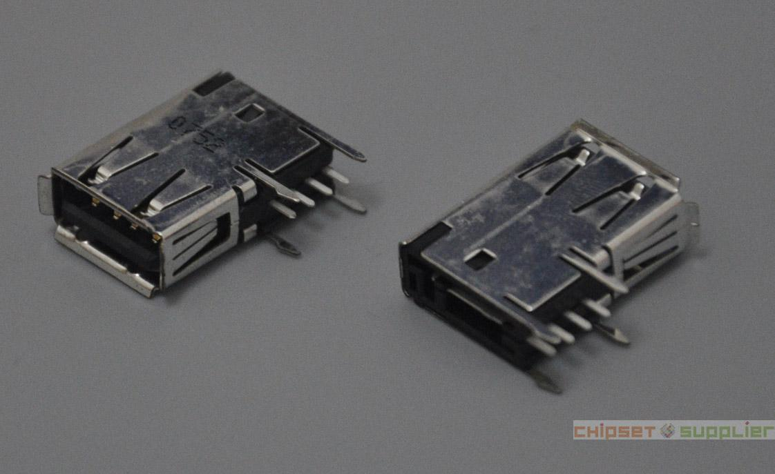 ALL-IN-ON Laptop PC MotherBoard Common use 19.5mm Vertical side USB Female Connector, U200752