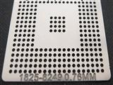 BGA Reballing Stencil, Template for 1825-8249, Heat Directly, Ball 0.76mm